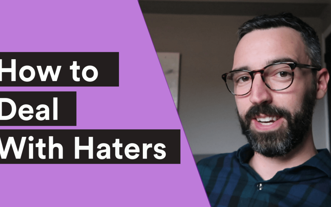 VIDEO  How To Deal With Haters